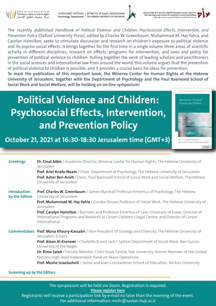 political violence and children